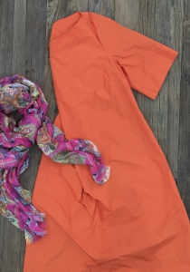joot - Sommer - Kleid - Estomo - Farbe - orange -